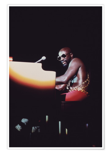 Premium-Poster Isaac Hayes