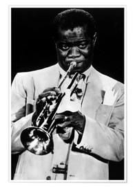 Premium-Poster Louis Armstrong