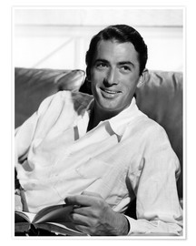 Premium-Poster Gregory Peck