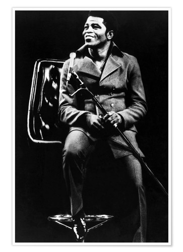 Premium-Poster James Brown