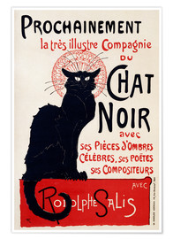 Poster Chat noir