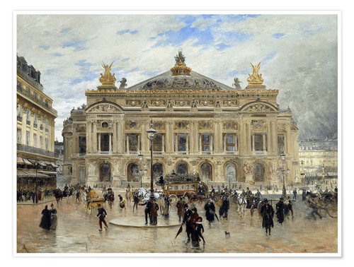 Premium-Poster Grand Opera House, Paris