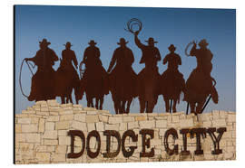 Alubild  Cowboys in Dodge City - Walter Bibikow