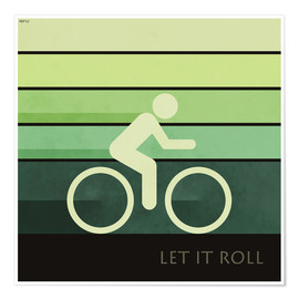 Premium-Poster  Let It Roll - Phil Perkins