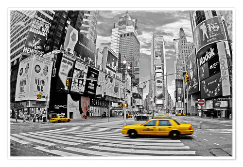 Premium-Poster New York - Times Square