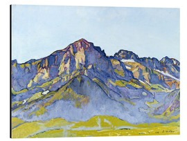Alubild  Dents Blanches bei Champéry - Ferdinand Hodler