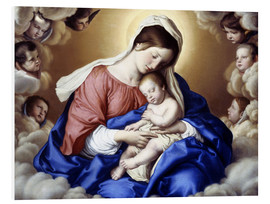 Forex  Madonna mit Kind. - Giovanni Battista Salvi da Sassoferrato