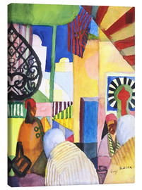 August Macke - Im Bazar