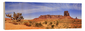 Holzbild  Monument Valley - fotoping