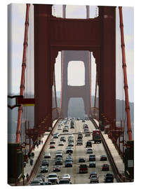 Leinwandbild  Golden Gate Bridge - Marcel Schauer