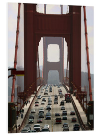 Hartschaumbild  Golden Gate Bridge - Marcel Schauer