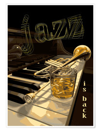 Premium-Poster  jazz is back - colosseum