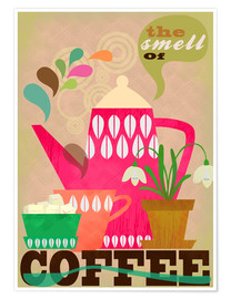 Premium-Poster  The smell of coffee - Elisandra Sevenstar