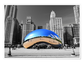 Premium-Poster Chicago Bean