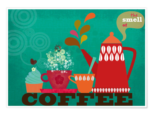 Premium-Poster The smell of coffee II