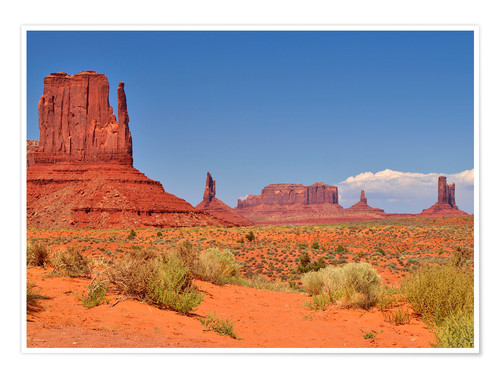 Premium-Poster Monument Valley I