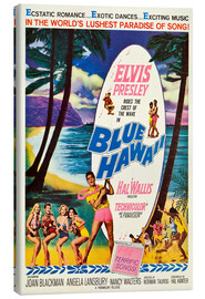Leinwandbild  BLUE HAWAII