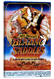 Leinwandbild  BLAZING SADDLES