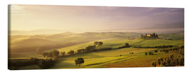 Markus Lange - Val d'Orcia bei Sonnenaufgang