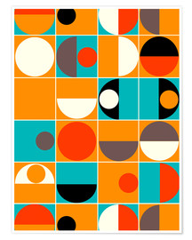 Premium-Poster  Panton Pop - Mandy Reinmuth