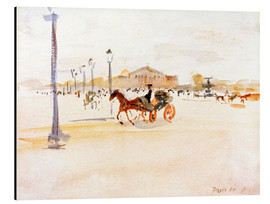 Alubild  Place de la Concorde in Paris - August Macke