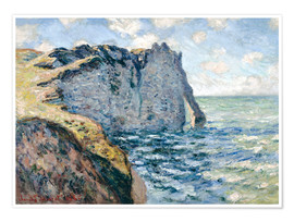 Poster  Der Manneport - Claude Monet