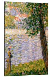 Alubild  Morgenspaziergang - Georges Seurat