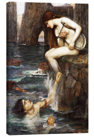 Leinwandbild  Die Sirene - John William Waterhouse