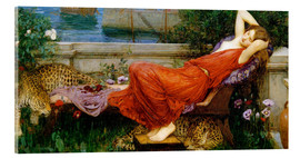 Acrylglasbild  Ariadne - John William Waterhouse