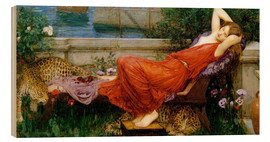 Holzbild  Ariadne - John William Waterhouse