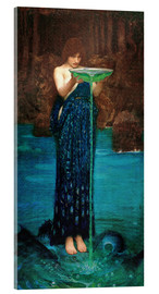 Acrylglasbild  Circe Invidiosa - John William Waterhouse