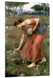 Hartschaumbild  Narzisse - John William Waterhouse