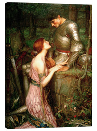 Leinwandbild  Lamia - John William Waterhouse