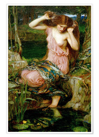 Premium-Poster  Lamia - John William Waterhouse