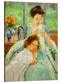 Alubild  Mutter und Kind  - Mary Stevenson Cassatt