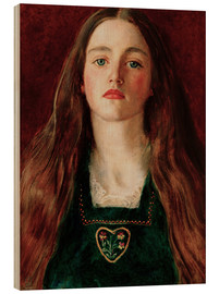 Holzbild  Sophie Gray - Sir John Everett Millais