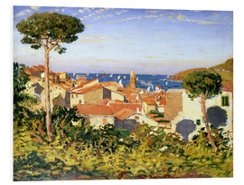 Hartschaumbild  Collioure, 1911 - James Dickson Innes