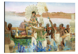 Alubild  Auffindung Moses durch die Tochter des Pharao - Lawrence Alma-Tadema