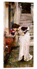Acrylglasbild  Das Heiligtum - John William Waterhouse