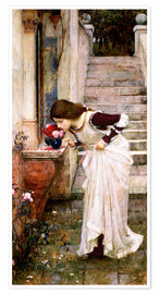 Premium-Poster  Das Heiligtum - John William Waterhouse