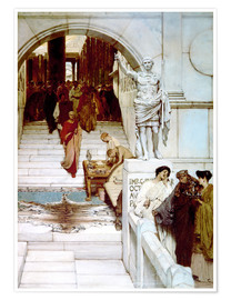Premium-Poster  Audienz bei Agrippa - Lawrence Alma-Tadema