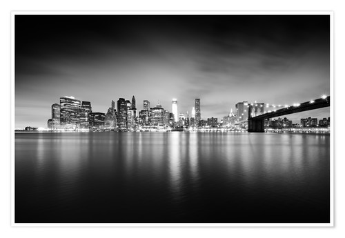 Premium-Poster New York Skyline
