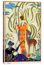 Leinwandbild  Persia, illustration from 'The Art of Perfume', pub. 1912 - Georges Barbier