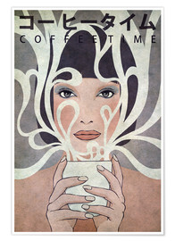 Poster  Coffee Time - Kuba Gornowicz