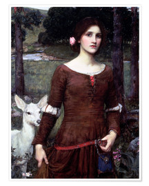 Premium-Poster  Lady Clare - John William Waterhouse