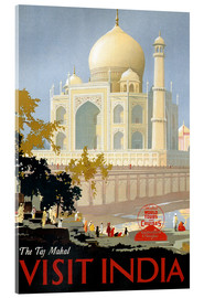 Acrylglasbild  Indien - Taj Mahal - Travel Collection
