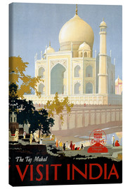 Leinwandbild  Indien - Taj Mahal - Travel Collection