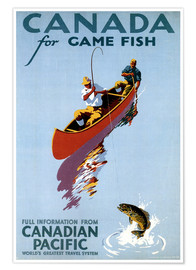 Premium-Poster Canada for Game Fish