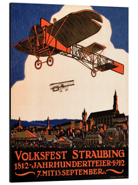Alubild  Volksfest Straubing 1812 - Advertising Collection