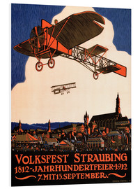 Hartschaumbild  Volksfest Straubing 1812 - Advertising Collection